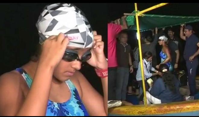 Motivation Alert: 14-YO Mumbai Girl Swims 48 Km Straight