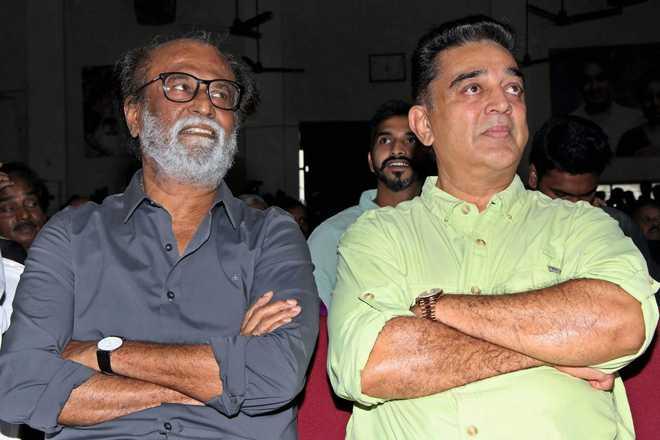 Kamal -Rajini Tie-up For Tamil Nadu Polls?