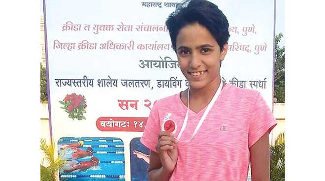 Rishika To Represent Maharashtra At Khelo-India National School Games Swimming Championship
