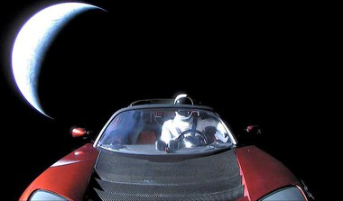 Now Track Tesla Roadster In Space