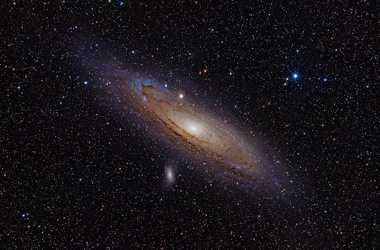 Andromeda Galaxy Is The Same Size As Milky Way
