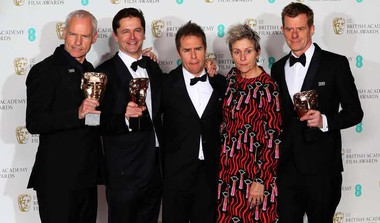 'Three Billboards' Leads At Politically Edged BAFTA Awards