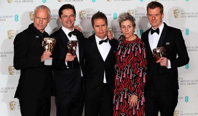 'Three Billboards' Leads At Politically Edged BAFTA Awards