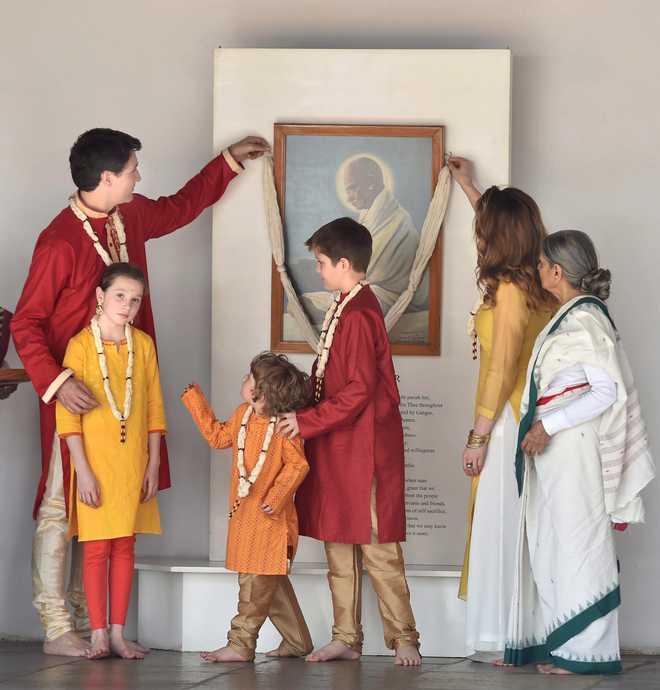 Trudeau: Sabarmati Ashram 'A Place Of Peace'