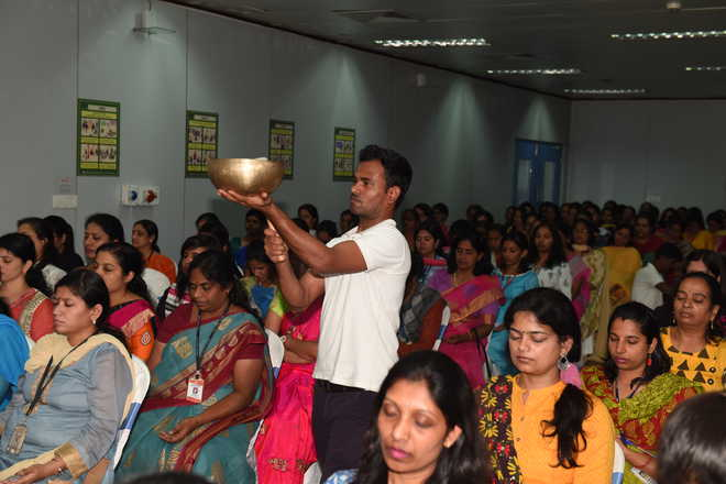 Teachers Have An Enlightening Session At Printing Press