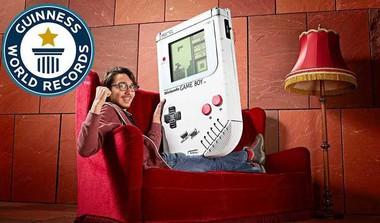 Meet The World's Biggest Game Boy!