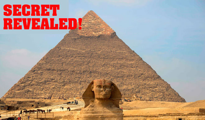 Mysterious Alignment Of Giza Pyramids
