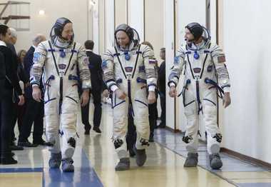 Spacesuit With Built-In Toilet