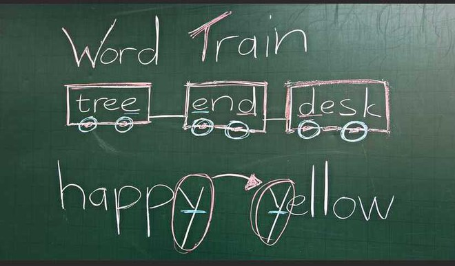 Man Teaches MS Word On Blackboard!