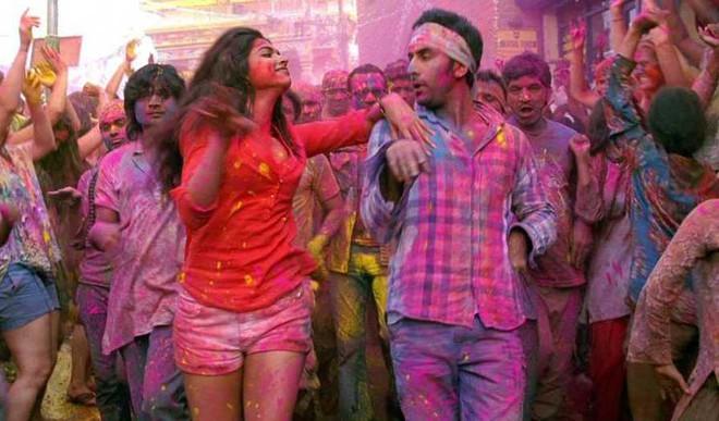 Iconic Scenes In Bwood Around Holi Celebs