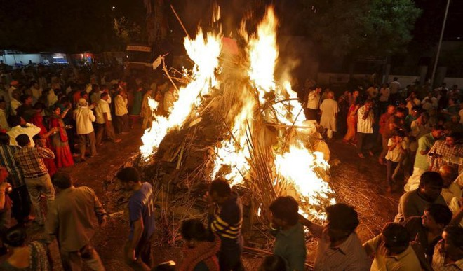 Holi Festival And The Power Of Fire
