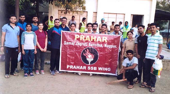 Prahar Samaj Jagruti Sanstha Presses For 'Swachhata Abhiyan'