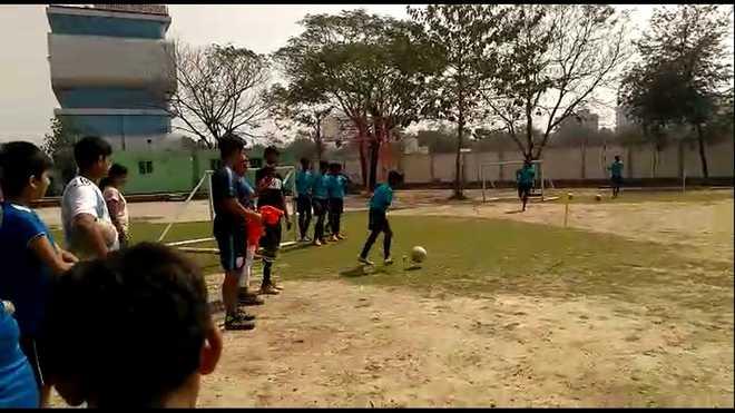 Football workshop held at Calcutta International School