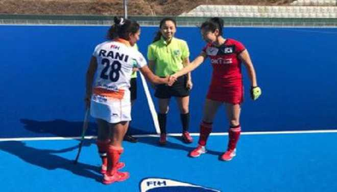 Indian Eves Defeat South Korea