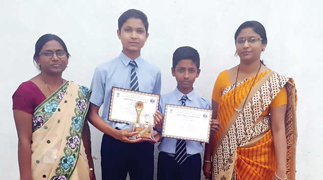 First Prize For Yashoda High School, Nagpur
