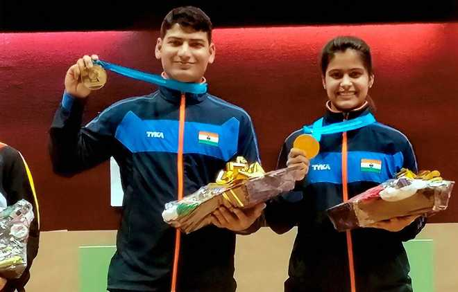 India Top Medal Tally At ISSF WC