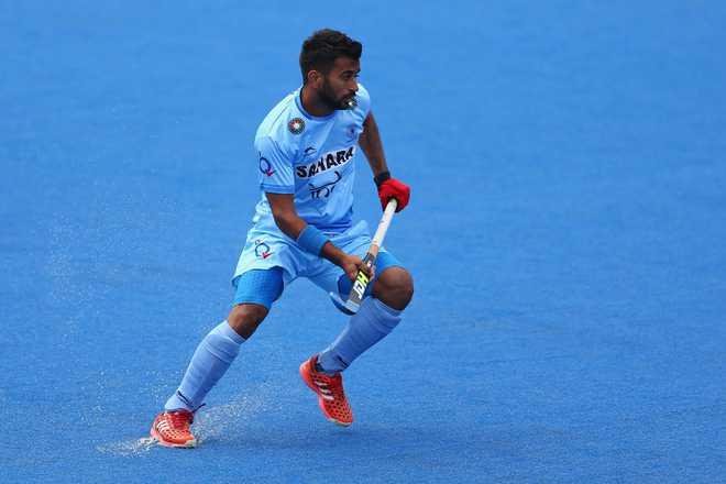 Manpreet Singh To Lead Indian Men's Hockey Team