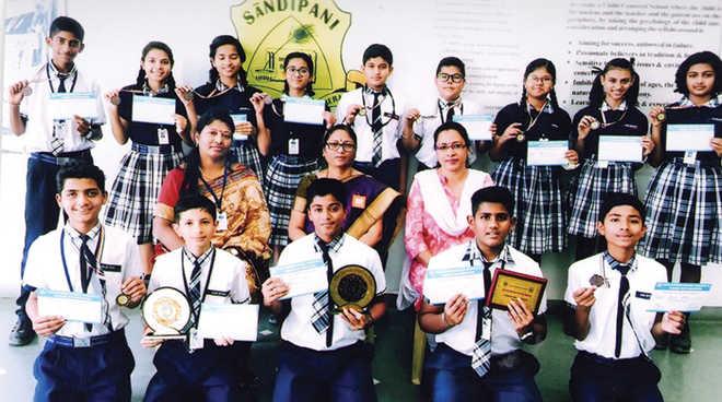 Sandipani Wins Jr Diplomathon