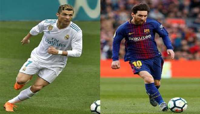 Ronaldo v Messi: Scoring Race Grows