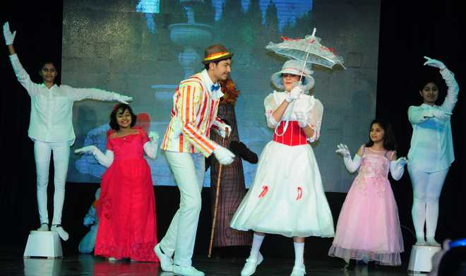 'Mary Poppins' Comes Alive Onstage at Bhavan's