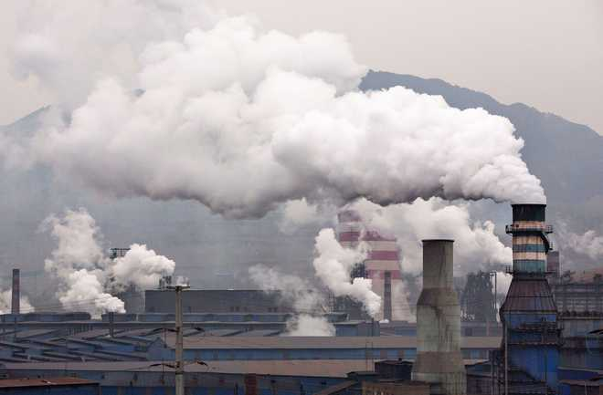 Carbon Emissions Hit Record High