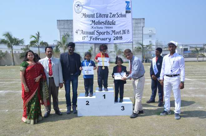 4th Annual Sports Meet At Mount Litera Zee School Maheshtala