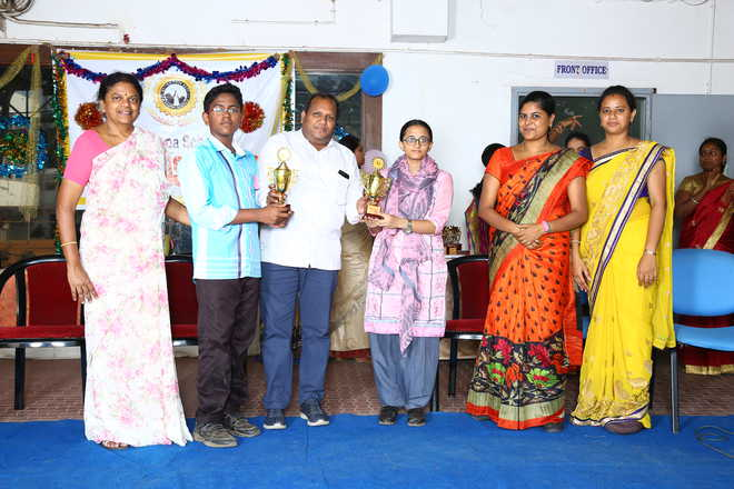 Literary Valedictory Function at Alagappa Schools
