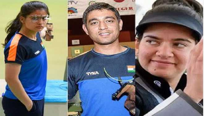 Indian Shooters Enter Top-10 Rankings