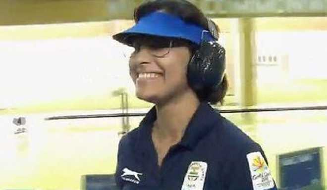 Heena Shoots CWG Record In 25m Pistol