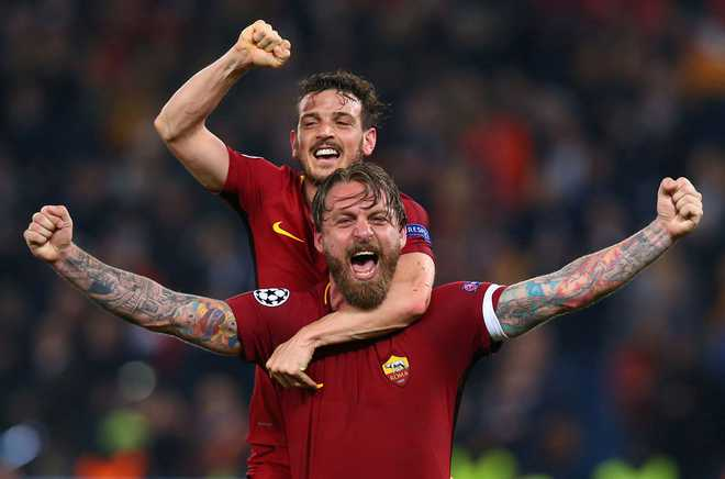 Roma Dump Barcelona Out Of UEFA CL