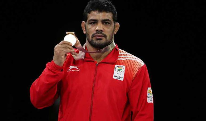 India at CWG, day 8: Wrestlers Enter With Medal Rush
