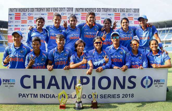 India Women Clinch ODI Series 2-1
