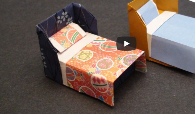 Make An Origami Bed