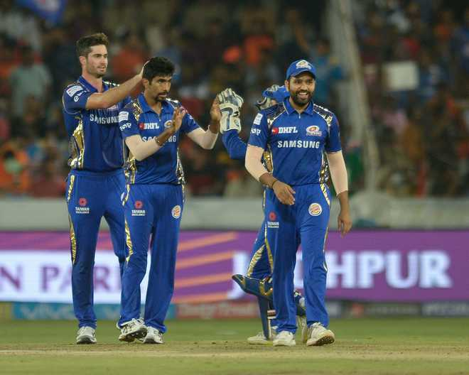 Rohit Sharma Powers MI To First Win