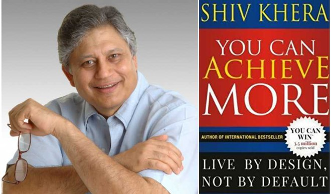 Shiv Khera Back With You Can Achieve More