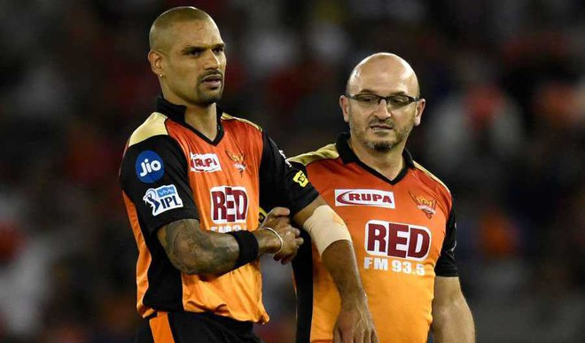 Dhawan's Absence Hurting SRH