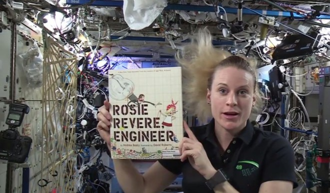 Watch Astronauts Read Stories From Space