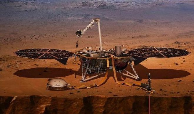 NASA's InSight Probe Takes Off On A Six-Month Journey