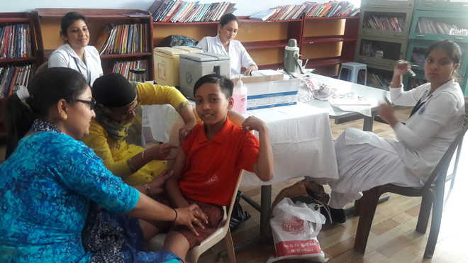Vaccination Camp Held