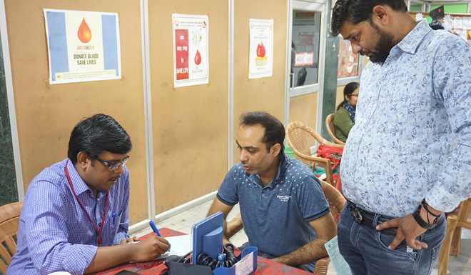School Conducts Blood Donation Camp