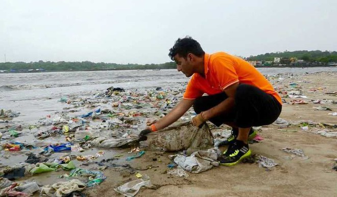 Three Indian Who Cleared The Litter For Us