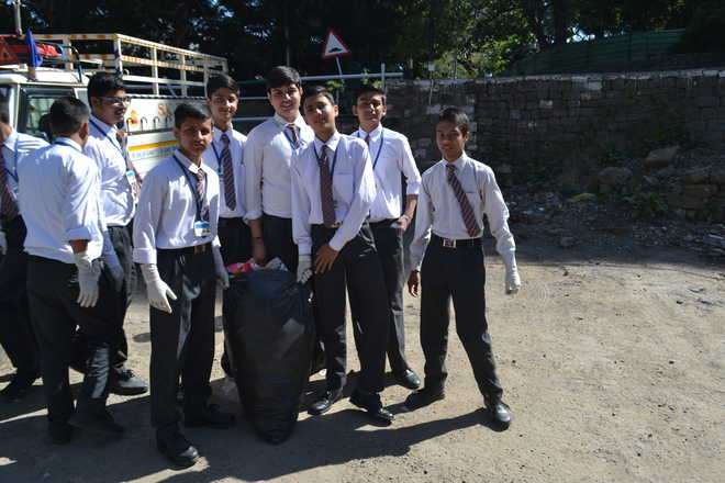 Cleanliness Drive By St Mary's