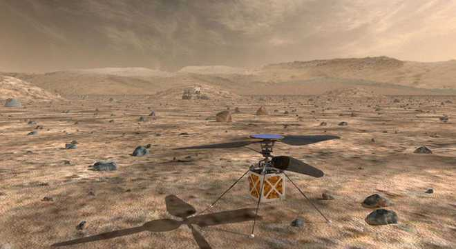 NASA To Send Helicopter Drone To Mars