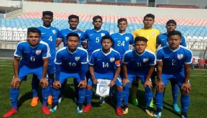 India U16 Football Team Win In Serbia