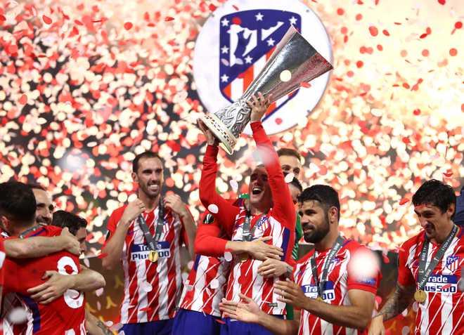Atletico Madrid Win Europa League