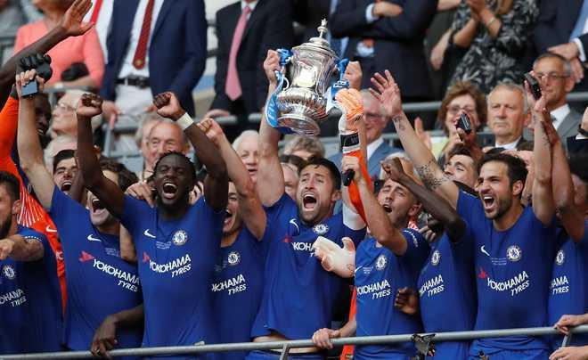 Chelsea Beat Man U 1-0 To Win FA Cup