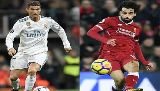 Ronaldo v Salah: Ballon d'Or On Line?