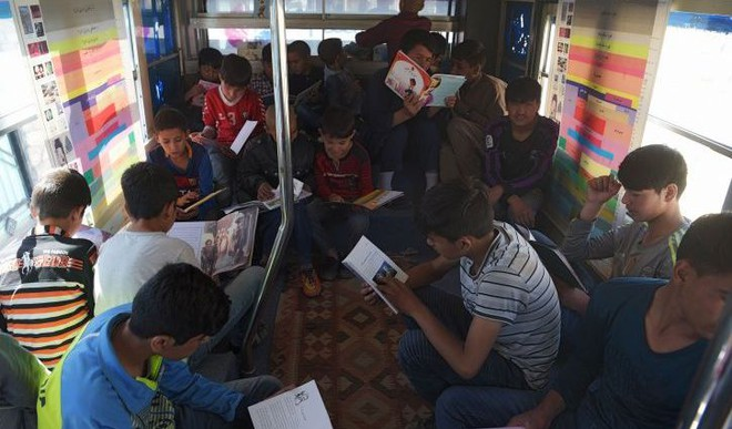 Kabul Gets Its First Library-On-Wheels For Children