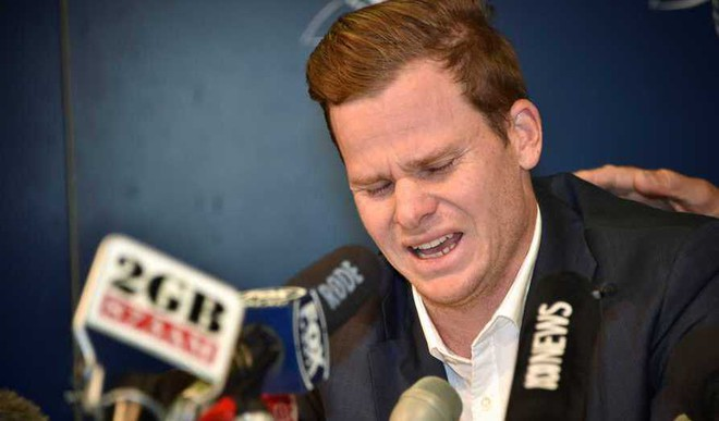 Smith 'Cried For 4 Days' Post Ball-tampering Scandal