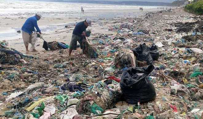 When Beaches Have More Plastic Than Sand